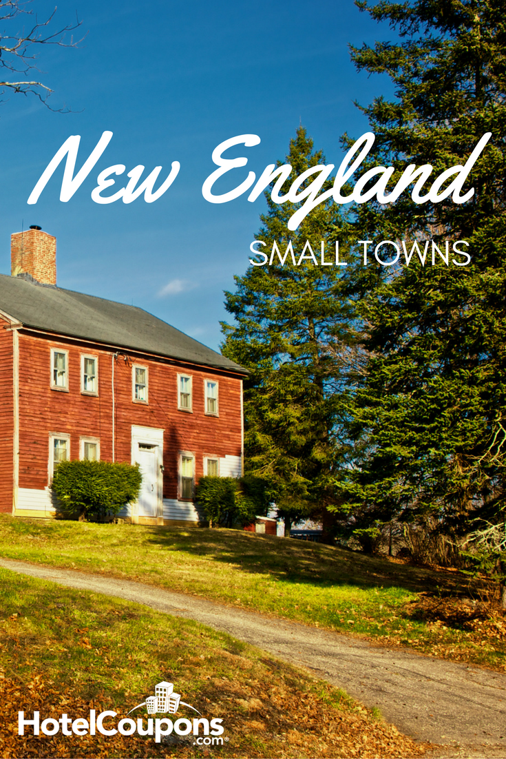 Explore these quintessential New England small towns.
