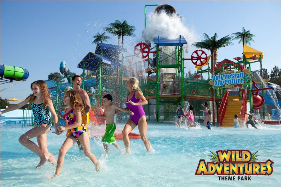 Splash Island, Wild Adventures Theme Park